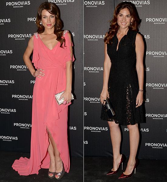 Lourdes Montes, Raquel Jiménez, Petra Nemcova, Stacy Keibler... 'front-row' de lujo en Barcelona
