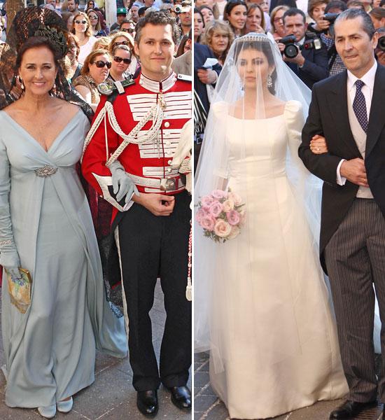La duquesa de Alba, la gran ausente en la boda del hijo de Carmen Tello