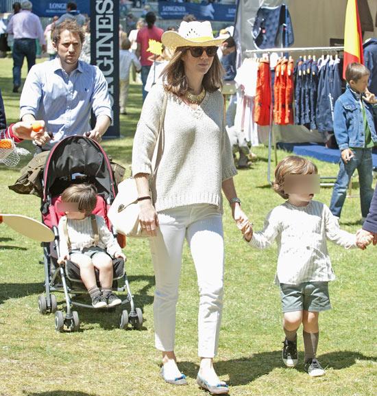 Mar Saura, Amelia Bono, Marta Ortega con su bebé… animadoras del torneo de saltos de Madrid