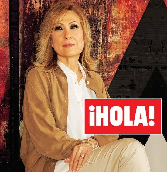 En ¡HOLA!: Rosa Benito responde, en exclusiva, a su marido, Amador Mohedano