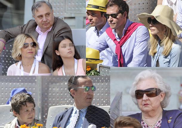 La victoria de Nadal y el interminable desfile de 'celebrities' bajan el telón del Mutua Madrid Open