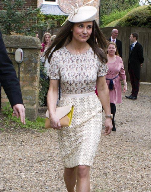 Pippa Middleton, una dama entre caballeros