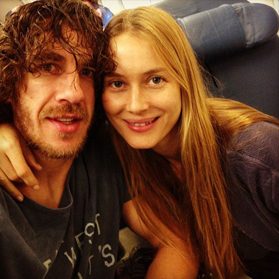 Carles Puyol with sexy, Girlfriend Vanessa Lorenzo