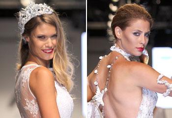Charisse Verhaert y Elisabeth Reyes dan la bienvenida al verano vestidas de novia