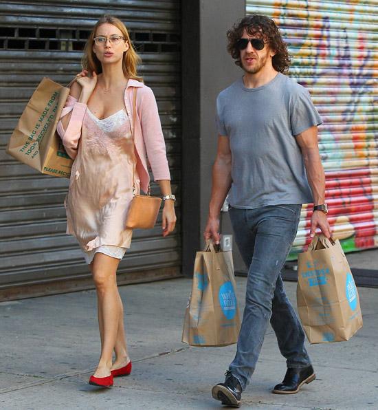 Vanesa Lorenzo y Carles Puyol, dos enamorados de escapada a Nueva York