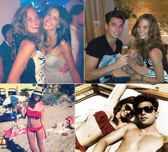 Jessica Bueno y Jota Peleteiro, días de amor y relax en Ibiza