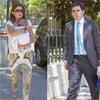 José María Aznar hijo y Mónica Abascal acuden junto a su hija de 3 meses a la primera comunión de su sobrino Alejandro