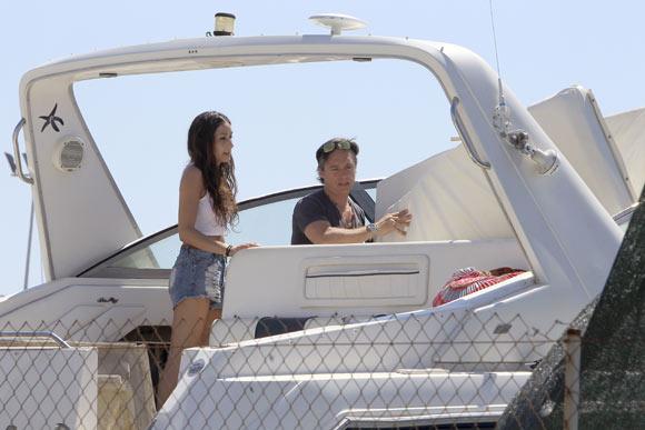 Israel Bayón y Cristina Sainz disfrutan de su primer verano de casados en Ibiza