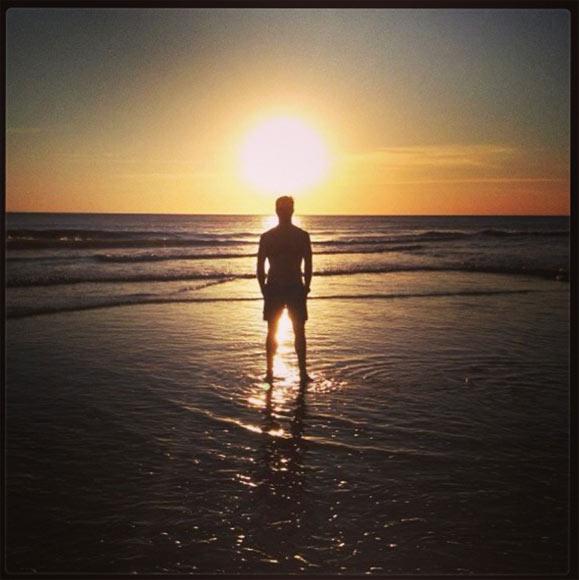Niños, sol y playa, la ecuación perfecta de Xabi Alonso en sus vacaciones familiares