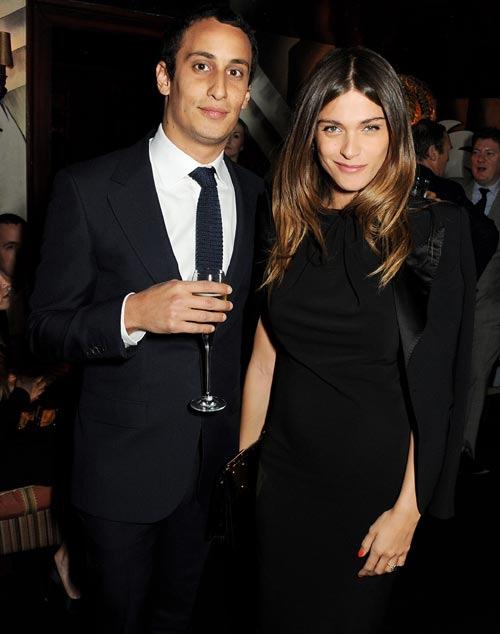 Álex Dellal, ex novio de Carlota Casiraghi, y la modelo Elisa Sednaoui, padres por primera vez
