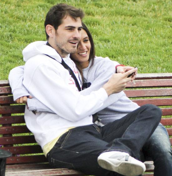 Iker Casillas y Sara Carbonero están esperando su primer hijo
