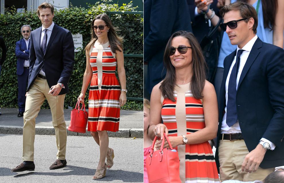 Pippa Middleton, coqueta y cariñosa con su novio, Nico Jackson