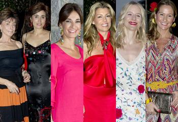 Mantones de manila, claveles y mucho colorido, Paloma Segrelles inaugura el verano con una gran fiesta en su residencia