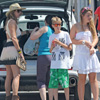 Arantxa de Benito, una madre cómplice, divertida y muy 'chic', de compras por Ibiza