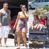 Ronaldo, sus hijos y su actual pareja, la Dj Paula Morais, se camuflan como unos turistas más en Ibiza
