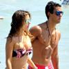 Elena Tablada luce figura en Ibiza junto a su chico, Daniel Arigita