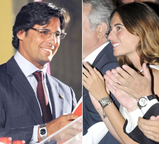 Francisco Rivera y Lourdes Montes... cuando un beso lo dice todo