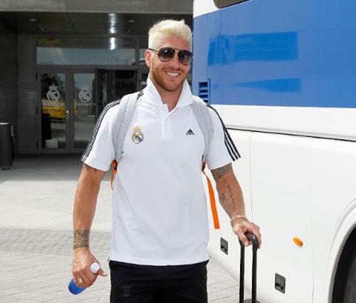 El radical cambio de 'look' de Sergio Ramos