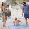 Borja Thyssen y Blanca Cuesta, un matrimonio muy enamorado, de vacaciones con sus tres hijos