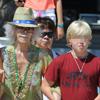 La duquesa de Alba disfruta de Ibiza con sus nietos, Luis y Amina