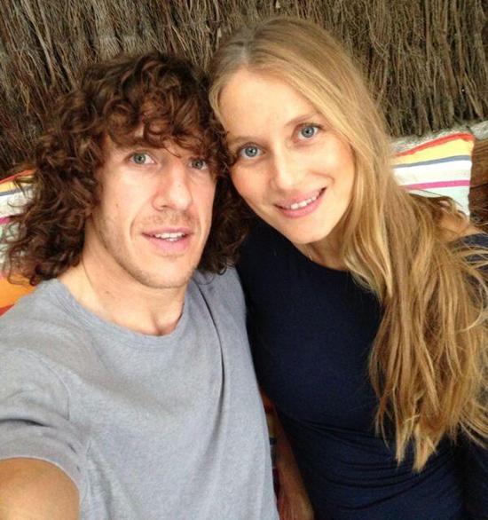 Carles Puyol y Vanesa Lorenzo anuncian que van a ser padres