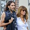 Russell Brand y Jemima Khan, una extraña pareja