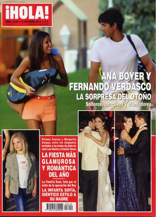 En ¡HOLA!: Ana Boyer y Fernando Verdasco, la sorpresa del otoño