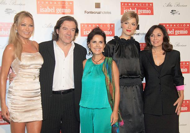 Isabel Gemio celebra un cóctel a favor de su Fundación: 'Daré siempre gracias a la vida por mis hijos, que son una bendición'