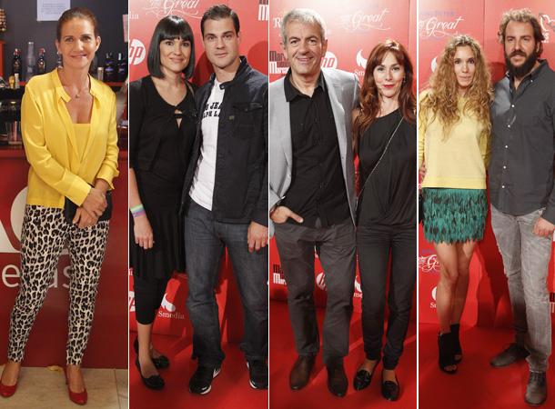 Borja Thyssen y Blanca Cuesta, Raquel Revuelta o Dani Martín se sueltan el pelo y bailan al ritmo de 'Los hombres G'