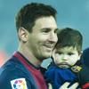 Messi celebra el primer año de vida de su hijo Thiago con una campaña por la infancia