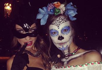 Raquel Jiménez, Úrsula Corberó, Ana Fernández, Diego Osorio... ¿quién es quién en Halloween?