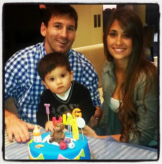 La bonita felicitación de cumpleaños de Messi y Antonella a su hijo Thiago: 'Eres todo para nosotros'