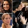 Las novias de Rafa Nadal, David Ferrer y Djokovic causan sensación en las gradas de París