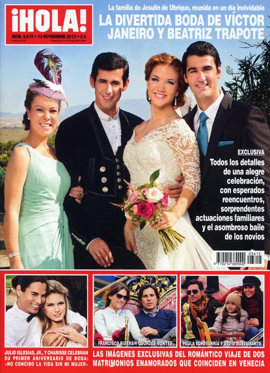 Exclusiva en ¡HOLA!: La divertida boda de Víctor Janeiro y Beatriz Trapote