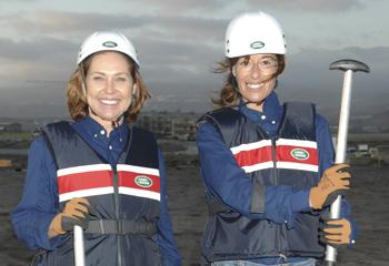 Ana Rodríguez y Mónica Martín Luque, ganadoras de una trepidante aventura solidaria en Tenerife