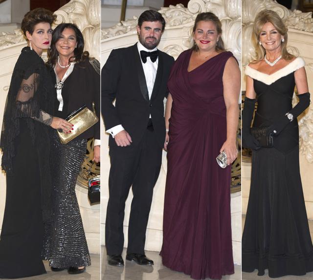 Elegancia y glamour a discreción en una cena de gala en el Casino de Madrid
