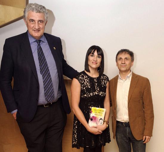 Irene Villa presenta su primera novela en Madrid
