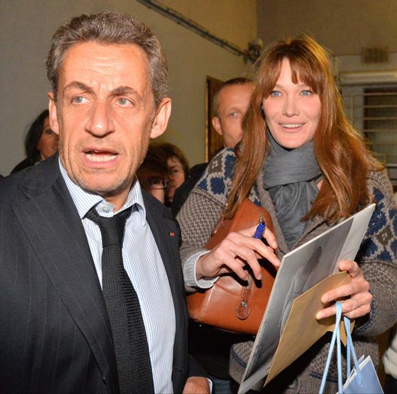 Nicolás Sarkozy, el mejor fan de Carla Bruni