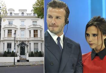 De 'Beckingham Palace' a una mansión de 54 millones de euros en el centro de Londres… ¡Los Beckham se mudan!