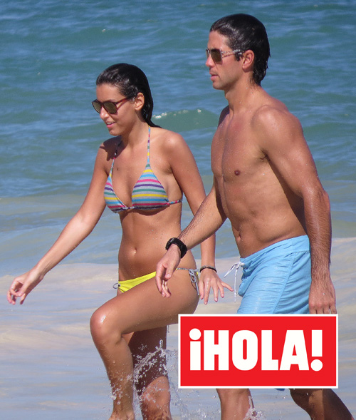 Exclusiva en ¡HOLA!: Ana Boyer y Fernando Verdasco, románticas vacaciones en las playas del Caribe