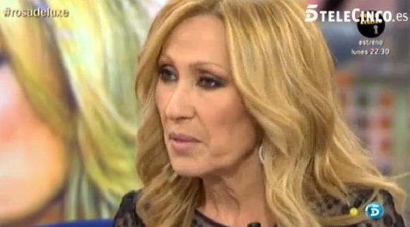 Rosa Benito regresa a la televisión: 'Amador y yo no queremos volver a estar juntos'