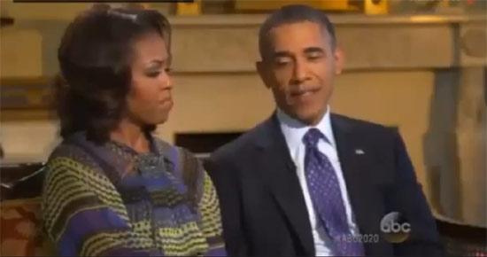 Los Obama abren las puertas de la Casa Blanca en su entrevista más íntima