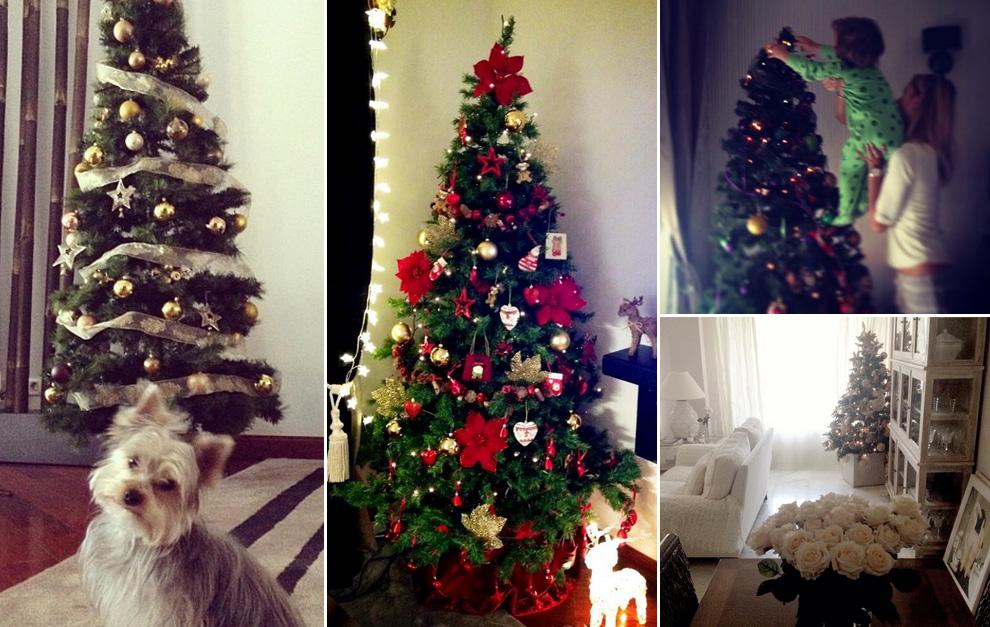 Helen lindes alessandra ambrosio carolina cerezuela - Fotos arboles navidad decorados ...