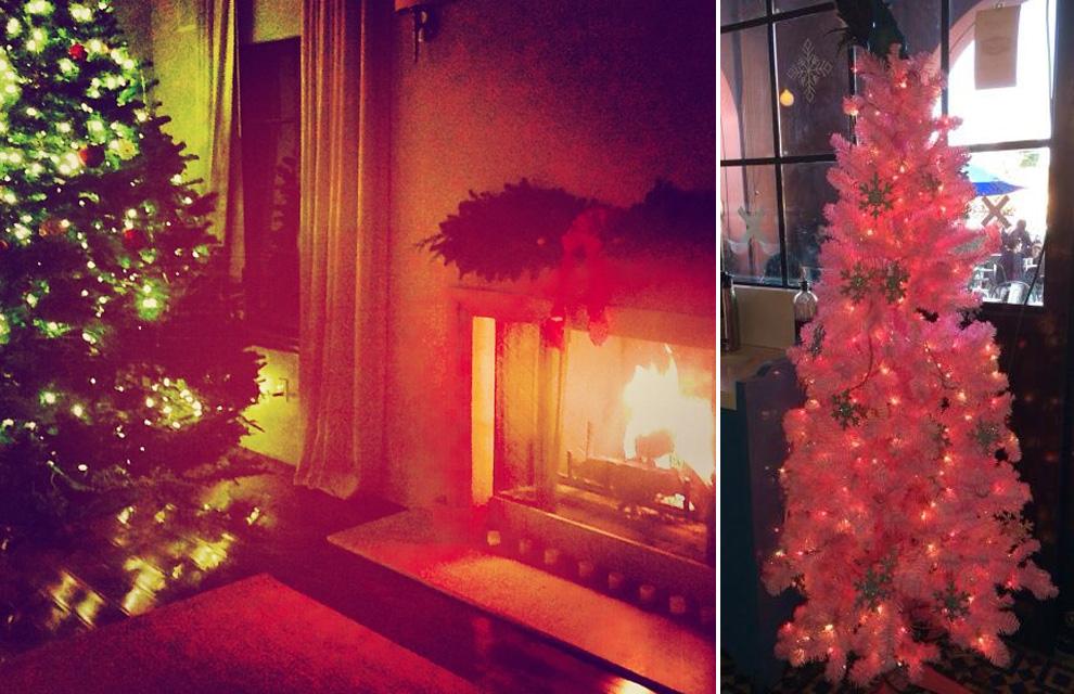 helen lindes alessandra ambrosio carolina cerezuela nos ensean su rbol de navidad
