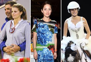 Athina Onassis, Marion Cotillard, Jessica Springsteen... fiesta de disfraces en la hípica