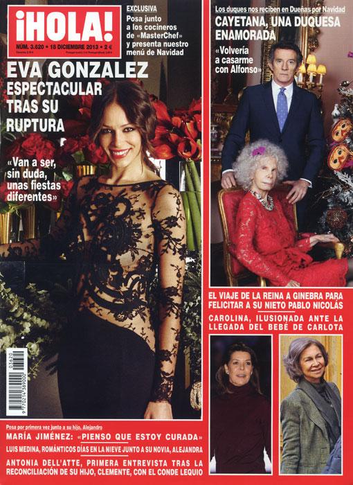 En ¡HOLA!: Eva González, espectacular tras su ruptura y más...