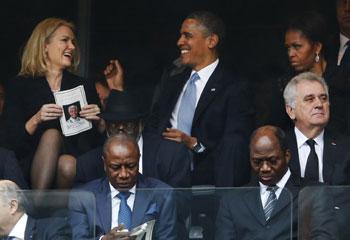 Barack y Michelle Obama, ¡si las miradas hablaran!