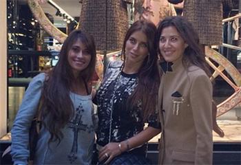 Las 'chicas del Barça' arrasan de compras por Milán