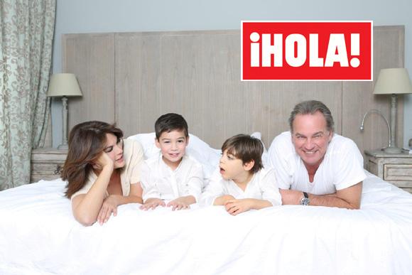 Exclusiva en ¡HOLA!: Bertín Osborne y Fabiola, Navidades con sus hijos entre la alegría y la tristeza