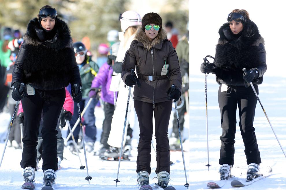 A bajo cero o bajo el sol… Así despiden el 2013 las celebrities
